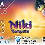 Lucca Comics and Games 2013: c'è anche Niki Batsprite