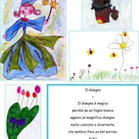 Dediche e disegni dai folletti della 2°B