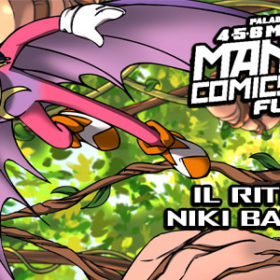 Niki Batsprite a Mantova Comics and Games 2016