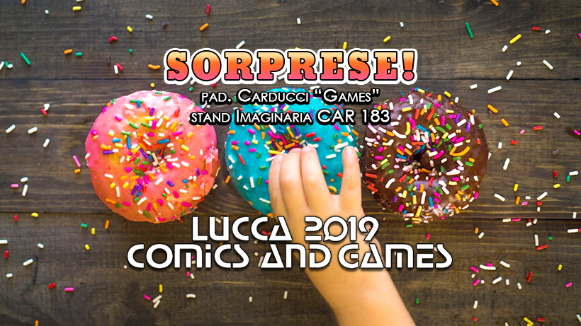 Fumetto italiano Lucca Comics and Games 2019