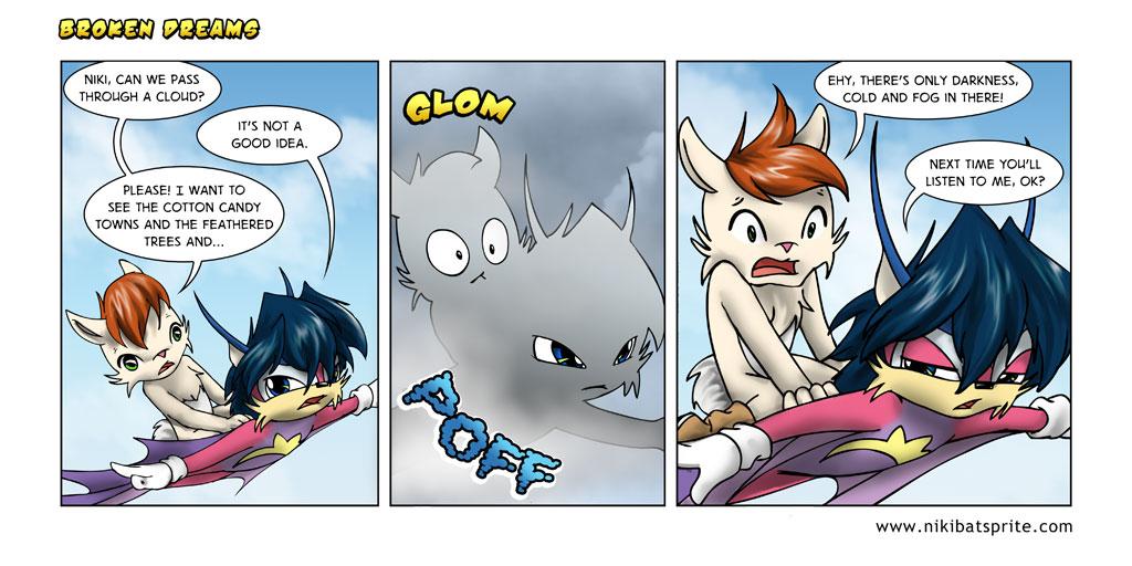 furry comic strip