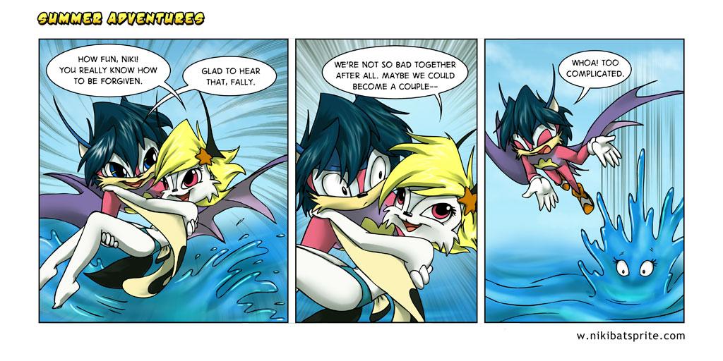 furry comic book